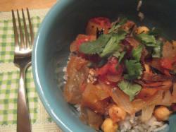 Stew with Garnish