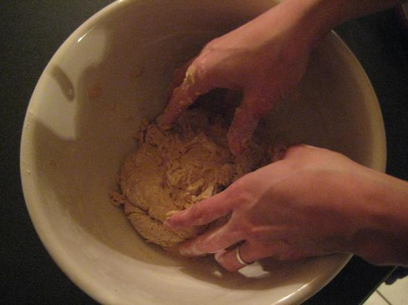 Hands and Dough