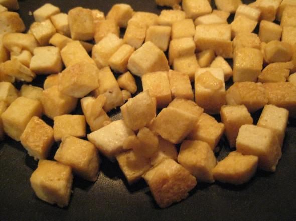 Golden tofu
