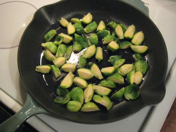 Searing Sprouts