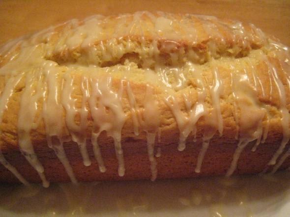 Glazed Orange Loaf - Small World Supper Club
