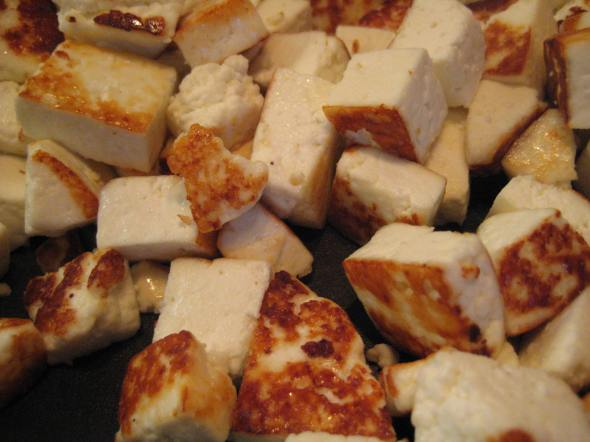Pan Fried Paneer