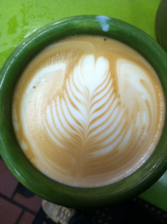 Latte at The Edge