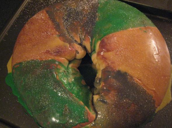 Glazed King Cake