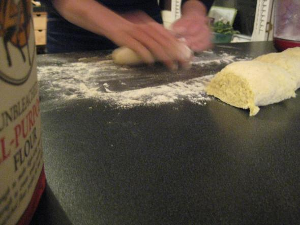 Rolling Gnocchi Dough