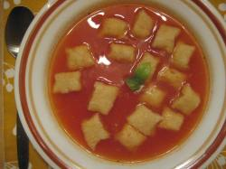Gnocchi in Tomato Broth - Small World Supper Club