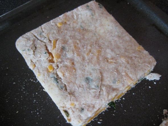 Cheddar Cilantro Biscuits