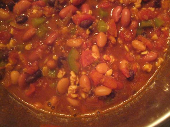 Bean and Tempeh Chili