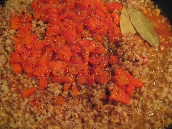 Red Peppers and Seasonings
