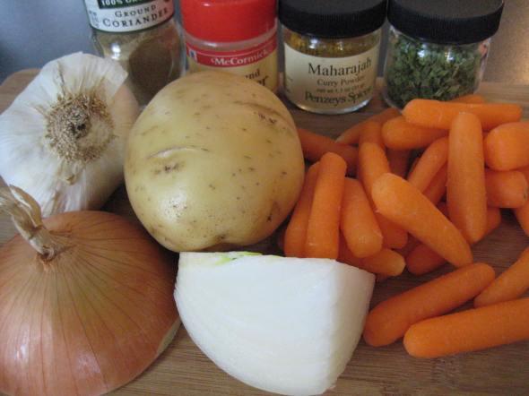 Split Pea Soup prep