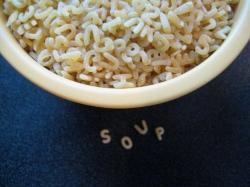 Alphabet Soup    Small World Supper Club