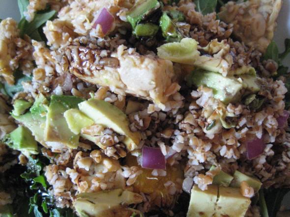 Tempeh Bulgur Salad