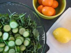 Clementine Arugula Salad || Small World Supper Club