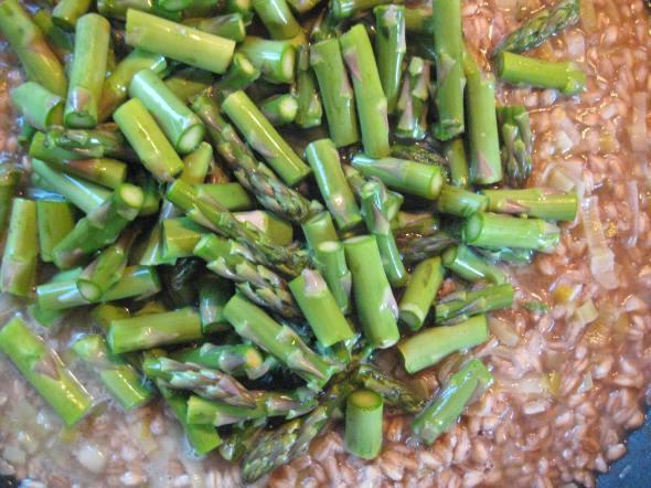 Asparagus Farrotto