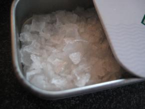 coarse salt
