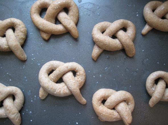 unbaked pretzels