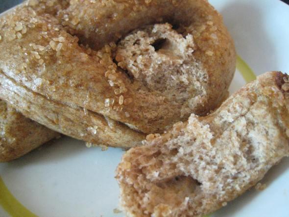 Cinnamon Sugar Pretzel || Small World Supper Club