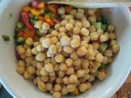 Chickpeas + Veggies