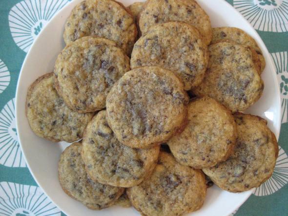 Ginger Sea Salt Choco Chip Cookies || Small World Supper Club