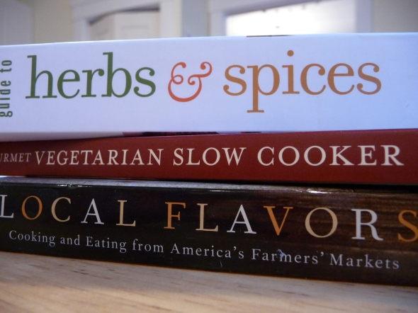 Three New Cookbooks