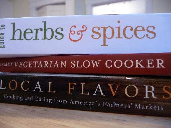 Three New Cookbooks
