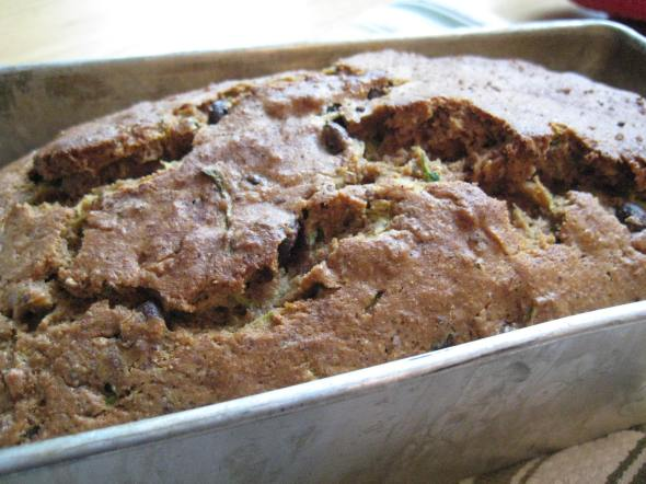 Choco Chip Chipotle Zucchini Bread || Small World Supper Club