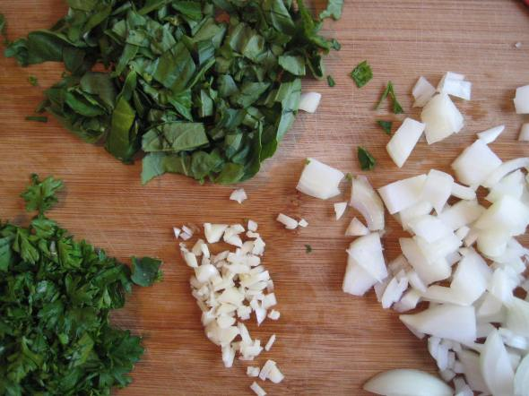 Herbs, Garlic, Onion