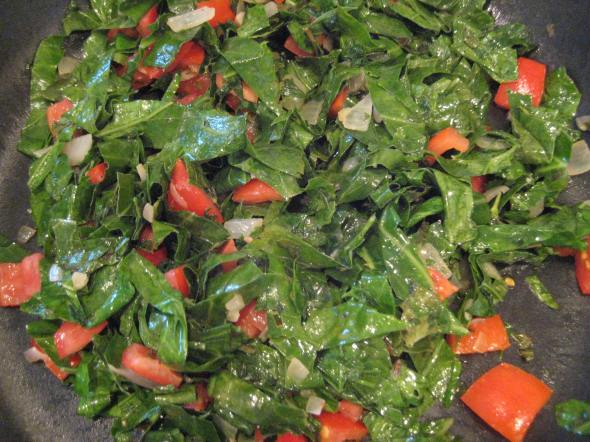 Wilting the Collards