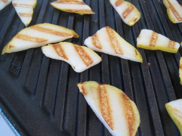 Grilled pears