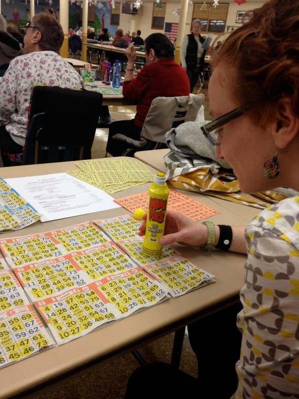 Serious Bingo Playing