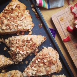 Apple Cinnamon Scones || Small World Supper Club