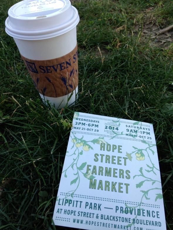 Farmer's Market latte
