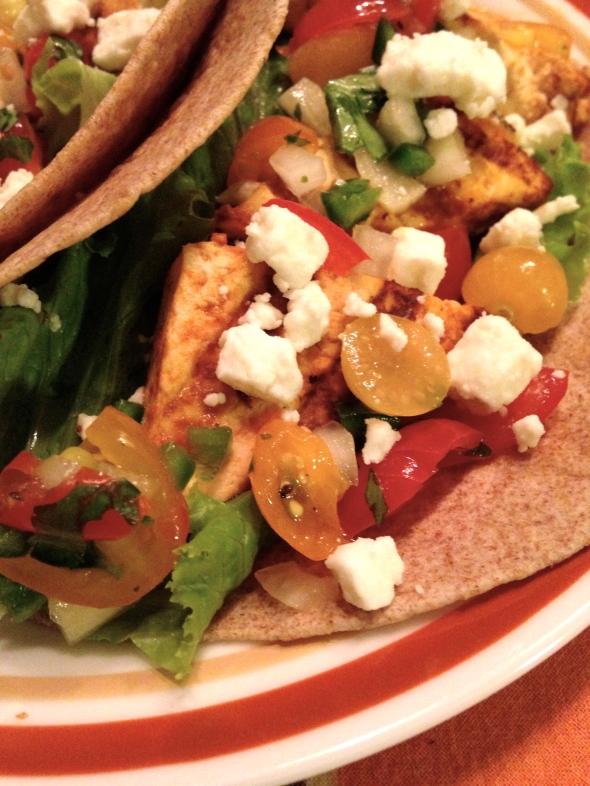Smoky Chipotle Tofu Tacos