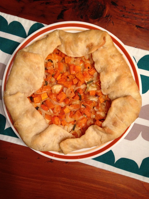 Butternut Squash Galette || Small World Supper Club